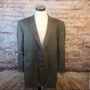 Jos A. Banks Silk/Wool Blazer 48L